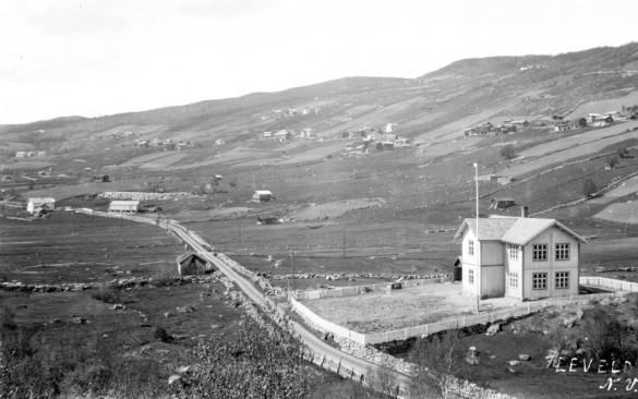 Leveld skule, 1926, Fotogr